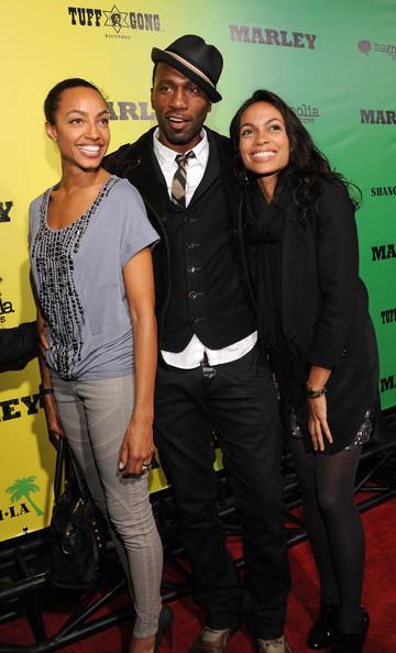 Leon Robinson Premiere Magnolia Picture Marley